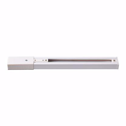 Изображение 135002 NT18 078 белый Шинопровод однофазный с токопроводом и заглушкой, 2м