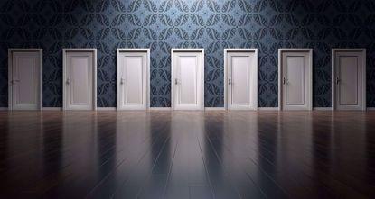 Изображение Установка межкомнатных дверей